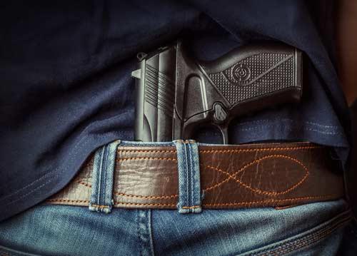 Gun charges defense